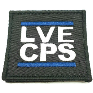 LVECPS Blue Edition Textil Patch - Polizeimemesshop