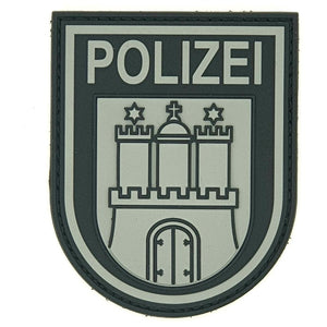 "Polizei Hamburg ""Black Ops"" Patch"
