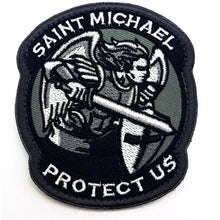Saint Michael Textil Patch