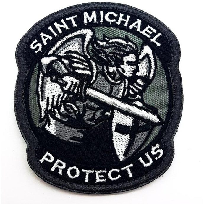 Saint Michael Textil Patch - Polizeimemesshop