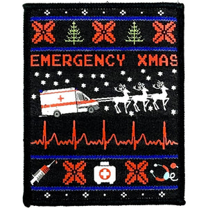 Emergency Xmas Patch - Polizeimemesshop