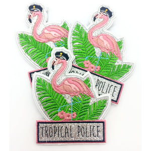 Tropical Police Funpatch Textil Klett