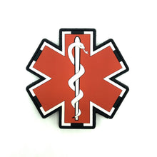 "Paramedic ""Glow in the Dark"" Rubberpatch - Polizeimemesshop"