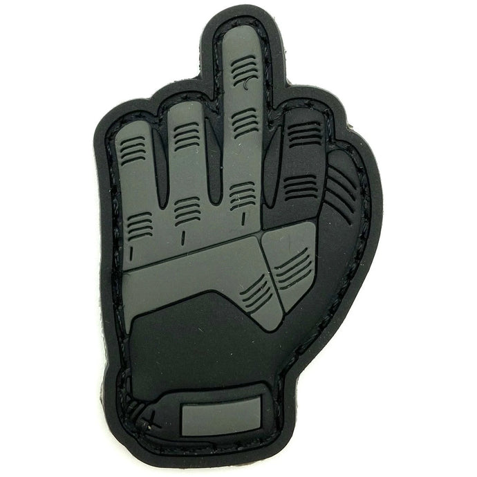 Einsatzhandschuh Rubber Patch - Polizeimemesshop