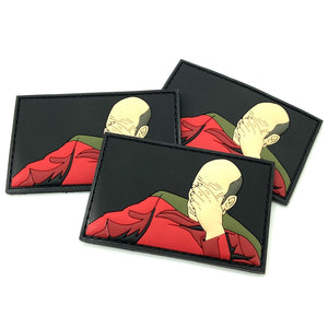 Facepalm Rubber Patch