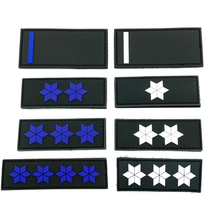Dienstgrad Rubber Patches Anwärter - A10