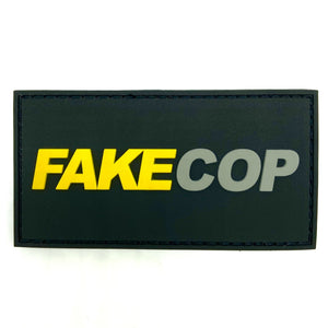 Fake Cop Rubber Patch