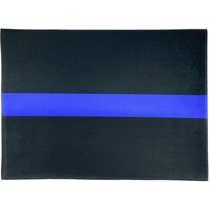 Thin Blue Line Indoor Fußmatte