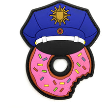 Polizei Donut Rubber Patch - Polizeimemesshop