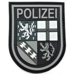 "Polizei Saarland ""Black Ops"" Patch"