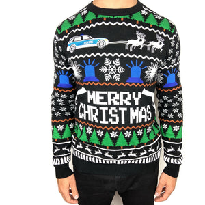 Merry Xmas Police Sweater Unisex