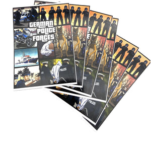 "GTA Polizei "" German Police Forces"" Sticker 10er Pack - Polizeimemesshop"