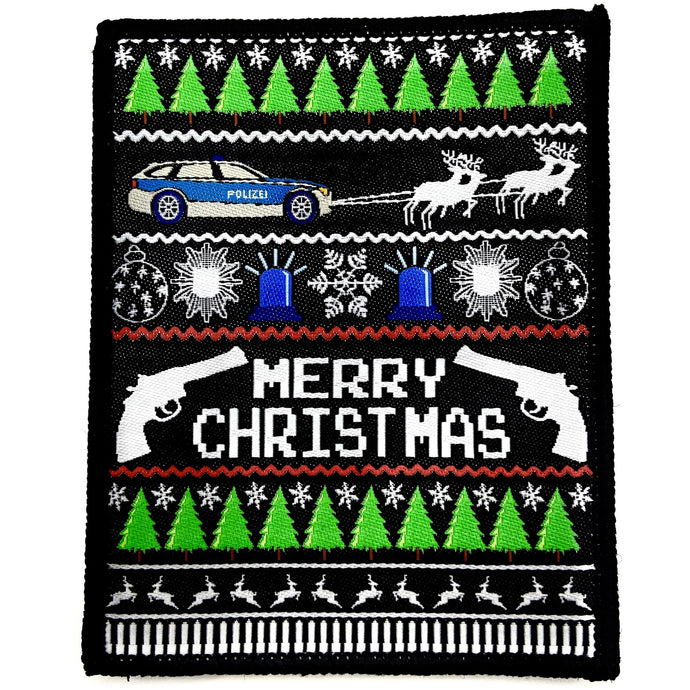 Merry Xmas Patch - Polizeimemesshop