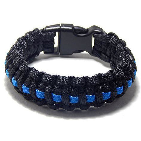 Thin Blue Line Paracord Armband