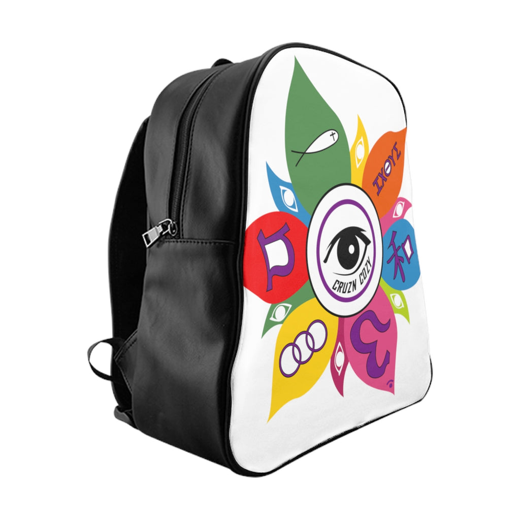 CRUZN COZY School Backpack