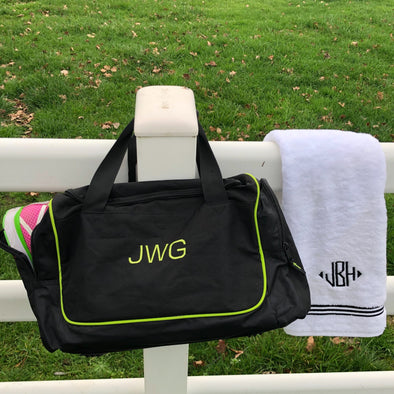 Monogrammed Motivation for Your Fitness Goals