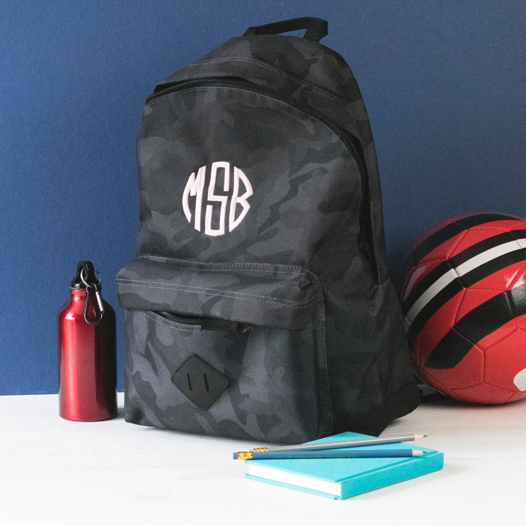 Back to School Monogramming