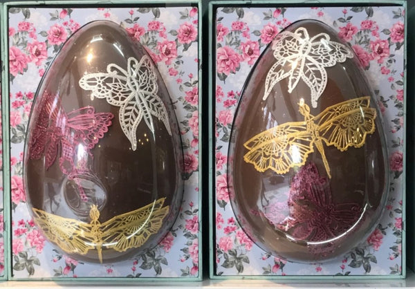 french-style chocolate easter egg