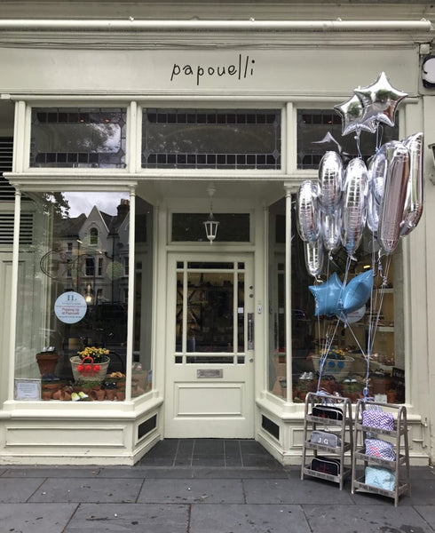 Papouelli shop front London