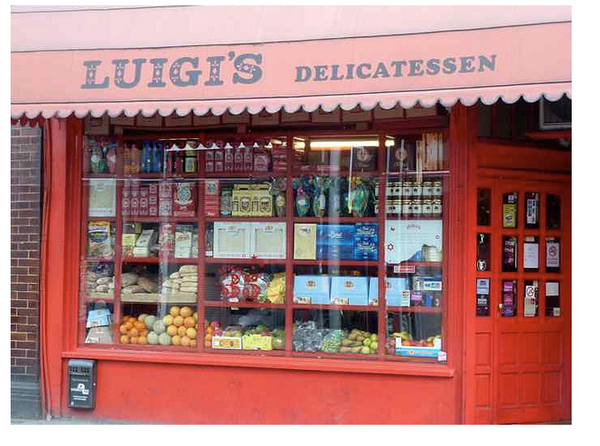 Luigis Deli on Fulham Road