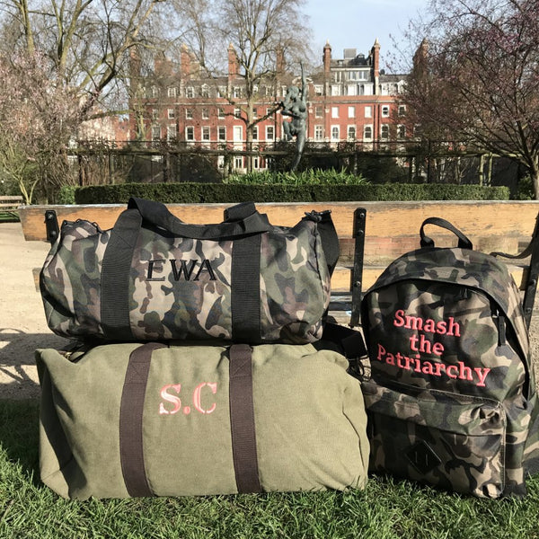 Camo bag collection - Duffles and Backpacks
