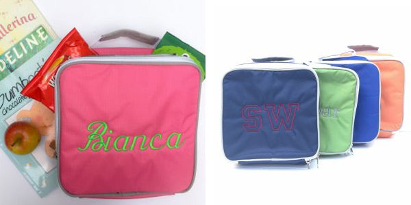 Monogrammed Lunch boxes