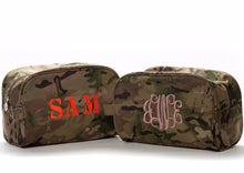 Camo Wash Bag - Initially London