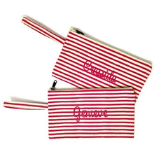 Stripey Pencil Case - Initially London