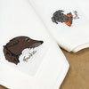 Bespoke Portrait Napkins - Initially London