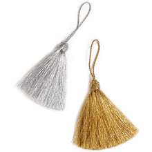 Metallic Tassels - Initially London