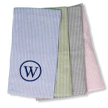 Preppy Stripe Tea Towel - Initially London