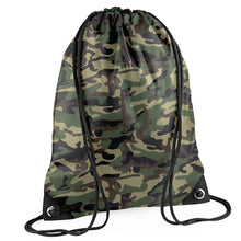 Camo Sports Bag - Initially London