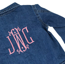 Toddler's Denim Jacket - Initially London