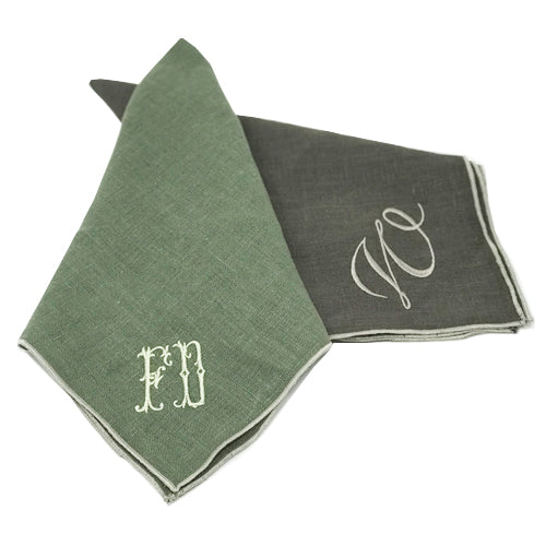Brigitte Border Napkin - Initially London