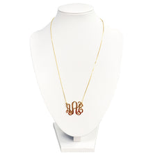 Intertwined Monogram Necklace - Initially London