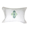 Small Organic Cotton Pillow - Initially London