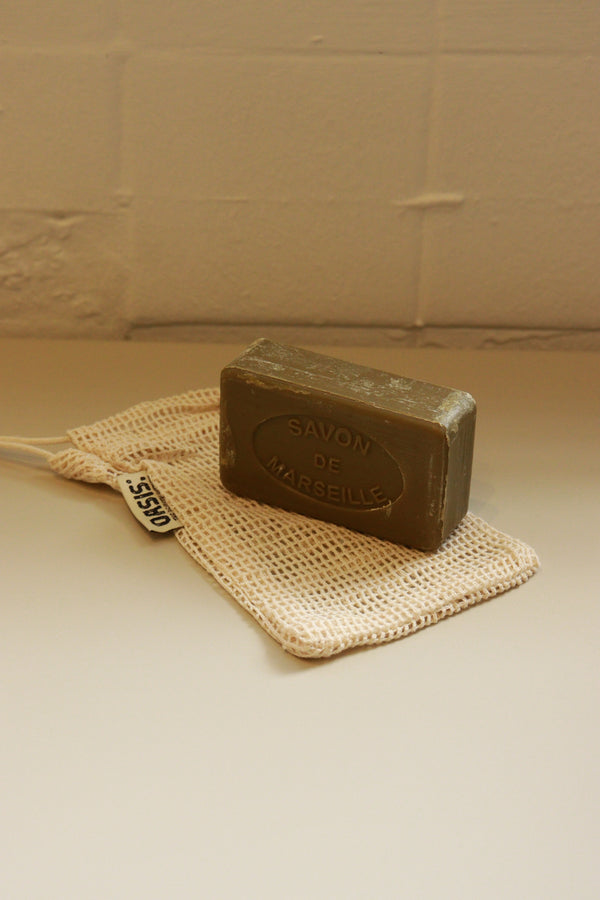 Cotton Mesh Soap Bag