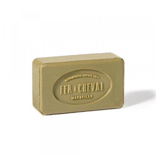 "Fer a Cheval Marseille ""Savonette"" (Rectangular Olive Toilet Bar Soap) 100g"