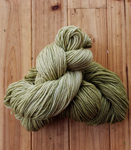Load image into Gallery viewer, Sage Green Hand Dyed Merino Yarn