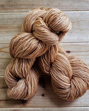 Load image into Gallery viewer, Spice Brown Blue Faced Leicester Yarn