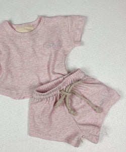 Original Jogger Set - Pink speckle