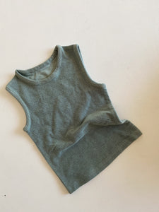 French Terry Sample Singlet size 12-18 months