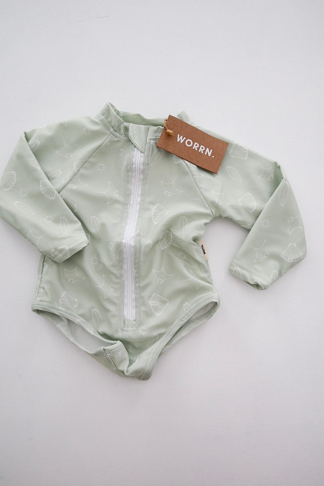 Worrn x Cody James Swim - Onesie - sea mist