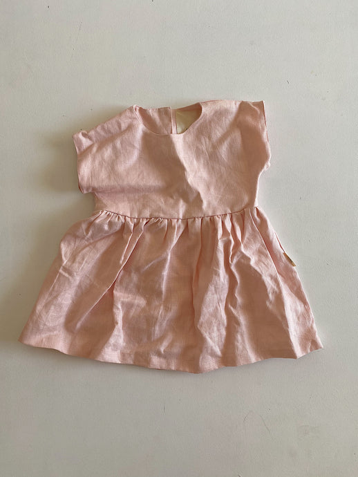 100%French linen dress size 3