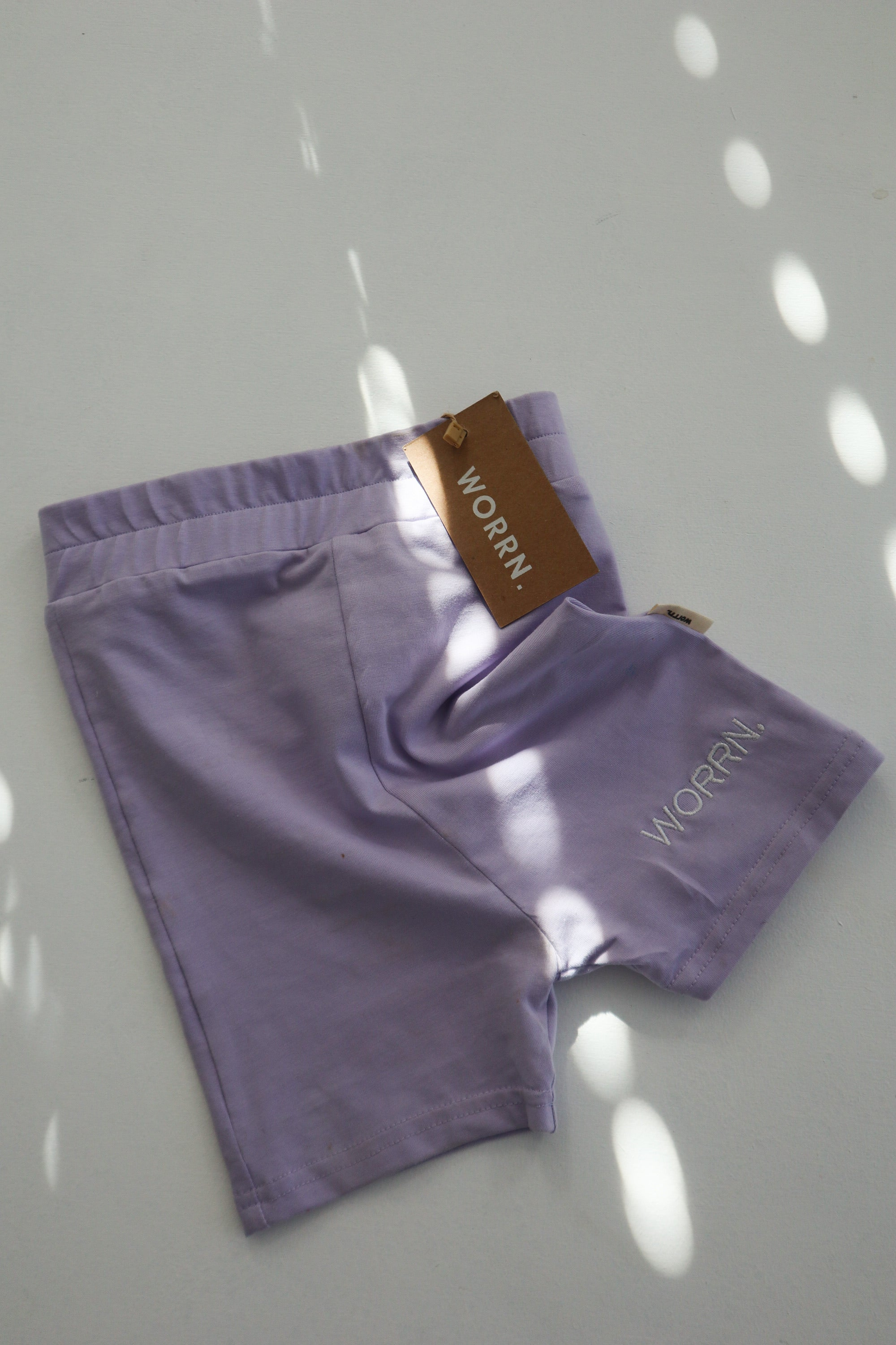 Signature Logo Bike short - Lilac