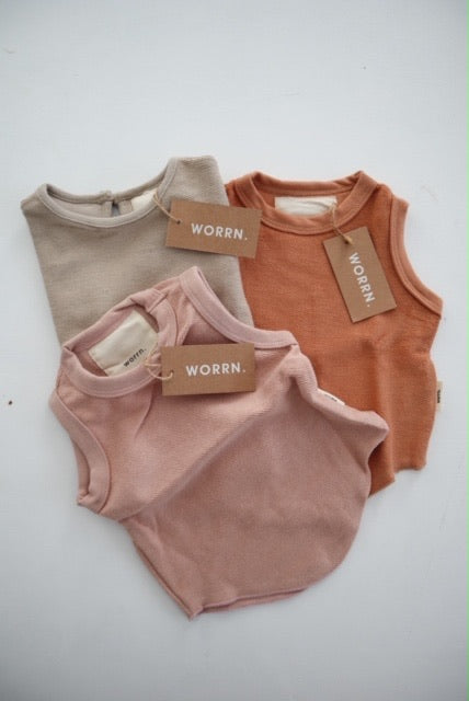French terry singlet bundle 02 - 4 years