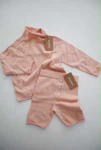 Cotton knit set -  2 years