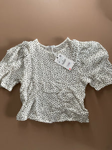 Zara speckle blouse size M - new with tags