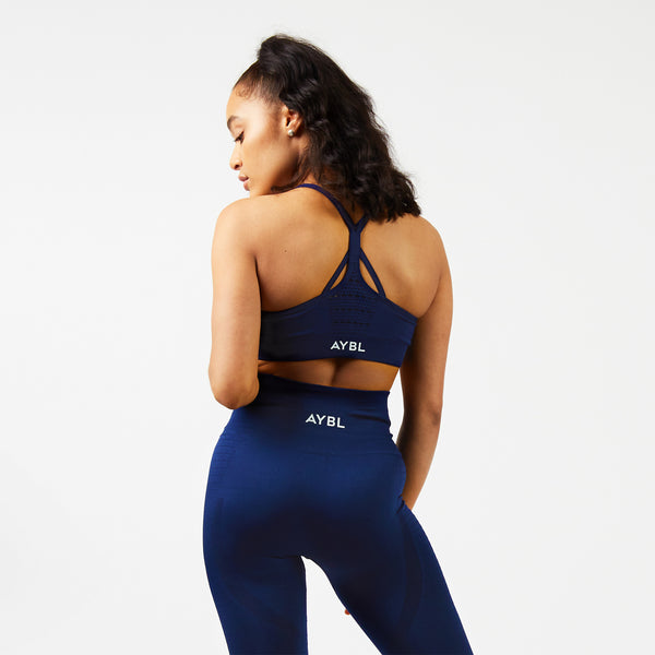 Balance Seamless Bra - Navy Blue