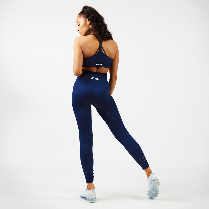 Balance Seamless Leggings - Navy Blue